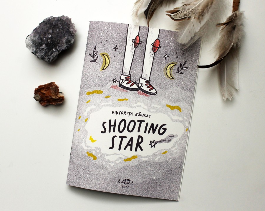 "Riso zine ""Shooting Star"""